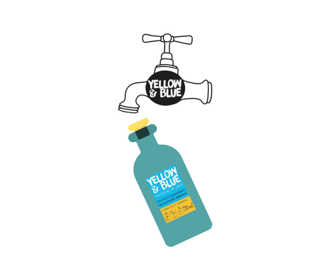 <100 ml.> Lemon gel limescale cleaner