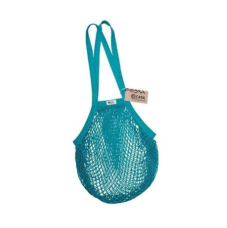 String bag – long handle – teal