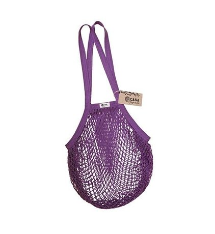 String bag – long handle – blackberry