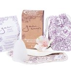Gaia Cup L – menstrual cup + panty liner and cleaning powder